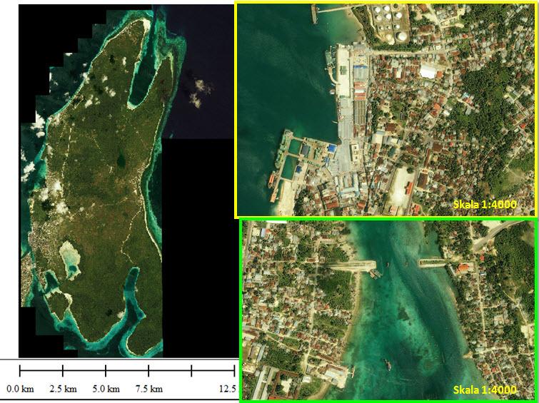 48. Tual, Pulau Dullah (IKONOS)